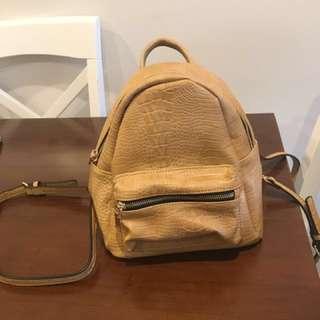 Mini-Sized LOUENHIDE Bertie Croc Backpack