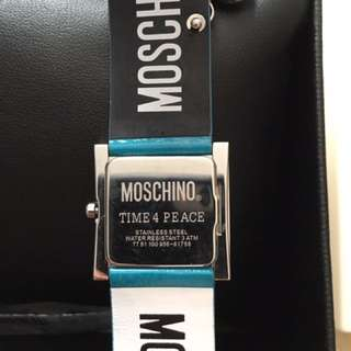 Moschino Time 4 Peace Watch