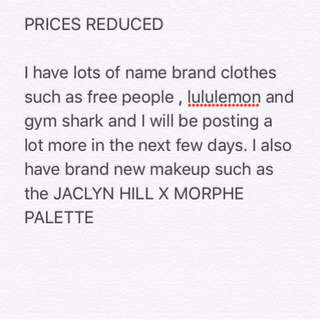 Prices reduced !!
