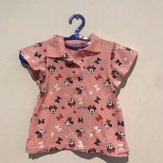 Disney Ori Minnie Mouse Polo Shirt