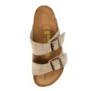 Taupe Birkenstocks Size 7 (Narrow)