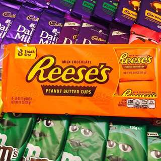 IMPORTED CHOCOLATES!! REESE'S