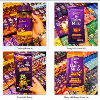 IMPORTED CHOCOLATES!! CADBURY DAIRY MILK