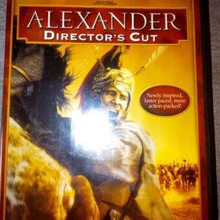 2 US DVDs 2-Disc ALEXANDER Director's Cut & 2-Disc GLADIATOR DVD, US