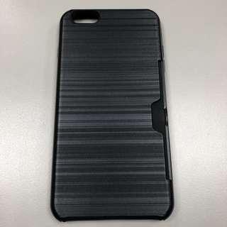 iPhone6 6S黑色髮絲紋手機保護殼