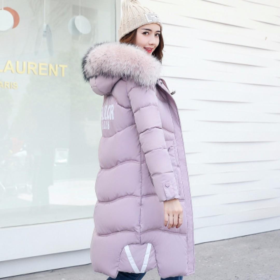 ☆★預購10-14天☆★ulzzang原宿棉衣女中長款羽絨