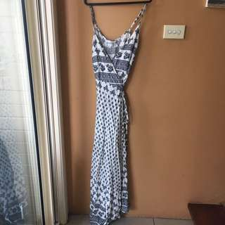 Long beach maxi dress