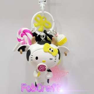 Tokidoki Hello Kitty Fob Charm