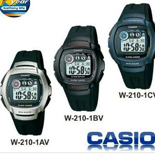 📡6折全新行貨卡西歐防水数字膠錶-40%Off Brand New Original Casio Water Resistance Digits  Plastic Watch