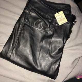 AE Faux Leather Pants