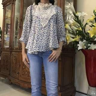 Peplum Blouse Asymmetry (Dress Asimetris)