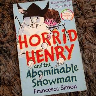 ♻️ Horrid Henry & The Abominable Snowman by Francesa Simon