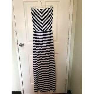 Barely Used Nita Stripe Tube Summer Dress