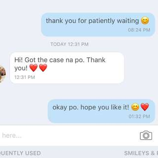 Feedback 💯 Thank you for trusting!