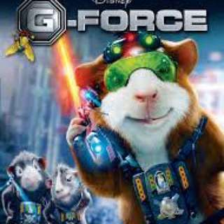 G Force Wii Game