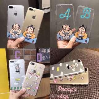 ✨全新現貨+預購✨文創搞笑透明手機殼i7/i8plus