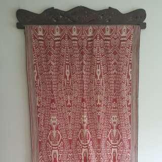 Borneo Wall Carpet Hand Woven Penan