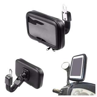 GPS / Mobile Phone Holder For Motorcycles Bicycles