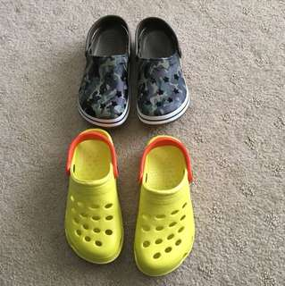 Boys summer sandals/crocs style shoe