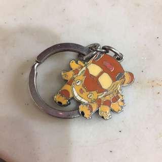 龍貓公車鑰匙圈