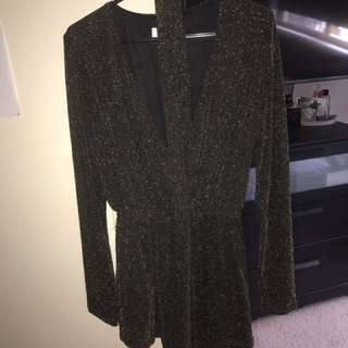 Sparkle playsuit