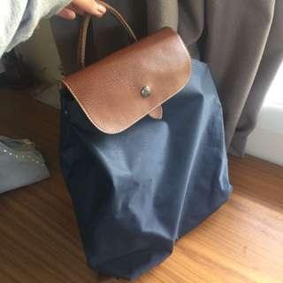 Longchamp style backpack