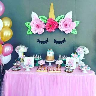 Event Planner - Unicorn Themed Party Dessert Table