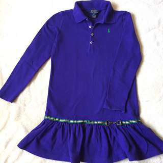Authentic Polo Ralph Lauren longsleeve shirt size 6/7