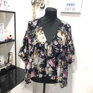 [REPRICED] FLORAL Blouse