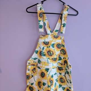Sunflower overalls