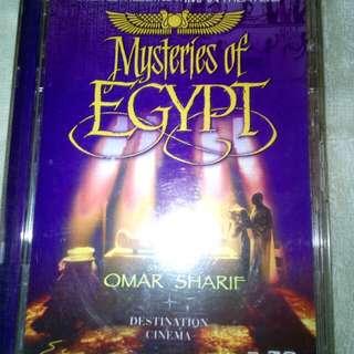 2 US DVD - Mysteries of Egypt & Prince of Egypt DVD US
