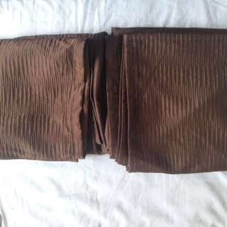 Long panel curtain (long/brown)