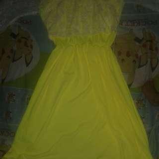 Nursing dress with flower lace