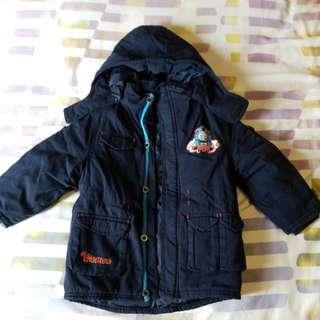 Thomas & Friends boy jacket 男童夾棉外套 size 3