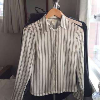 H&M work blouse