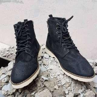 Boots wingrip leather saude