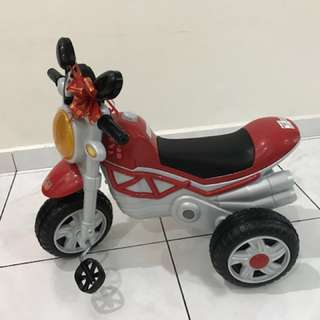 Sweet Kids Tricycle ( Motorbike)-Red