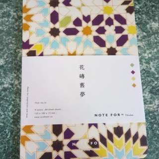 Tile Theme Vol.01 Blank Notebook