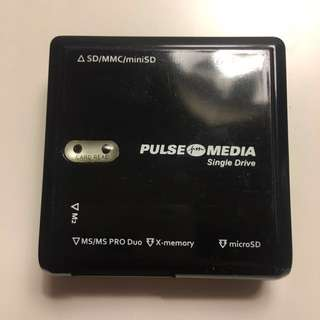 Pulse Media all in 1 USB reader for cameras and memory cards