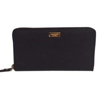 Original Kate Spade Wallet (Black)(Saffiano Leather)