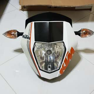 Ktm Duke 690 OEM headlight