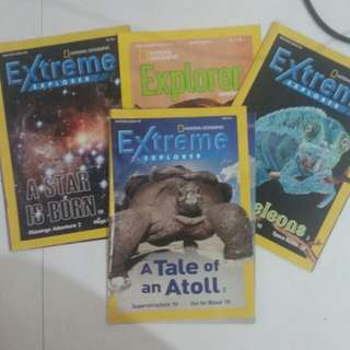 (8) National Geographic Magazines
