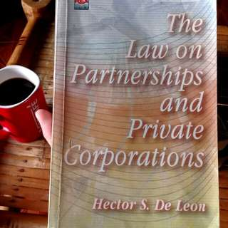 The Law on Partnership and Private Corporations