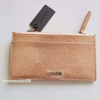 New!Mimco Shimmer Slim Card Wallet RRP$79.95
