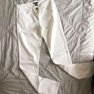 H&M White Jeans Size 6 (36)