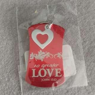 🆓免費🆓 基督教 天主教 神 鎖匙扣 love keychain