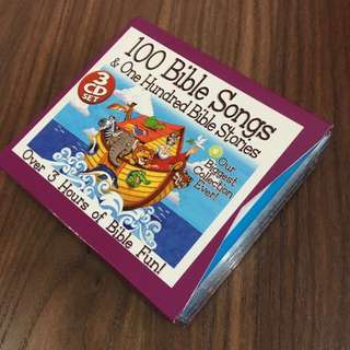 PL 100 Bible Songs & 100 Bible Stories - 3 CD Set