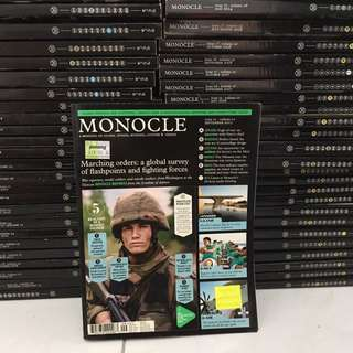 Monocle Magazines old issues