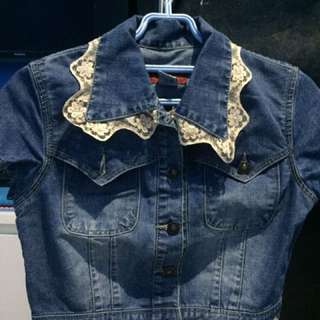 [Preloved] Outter (Rompi) Denim Jeans