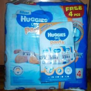 huggies pants saiz S